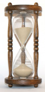 http://commons.wikimedia.org/wiki/File:Wooden_hourglass_3.jpg